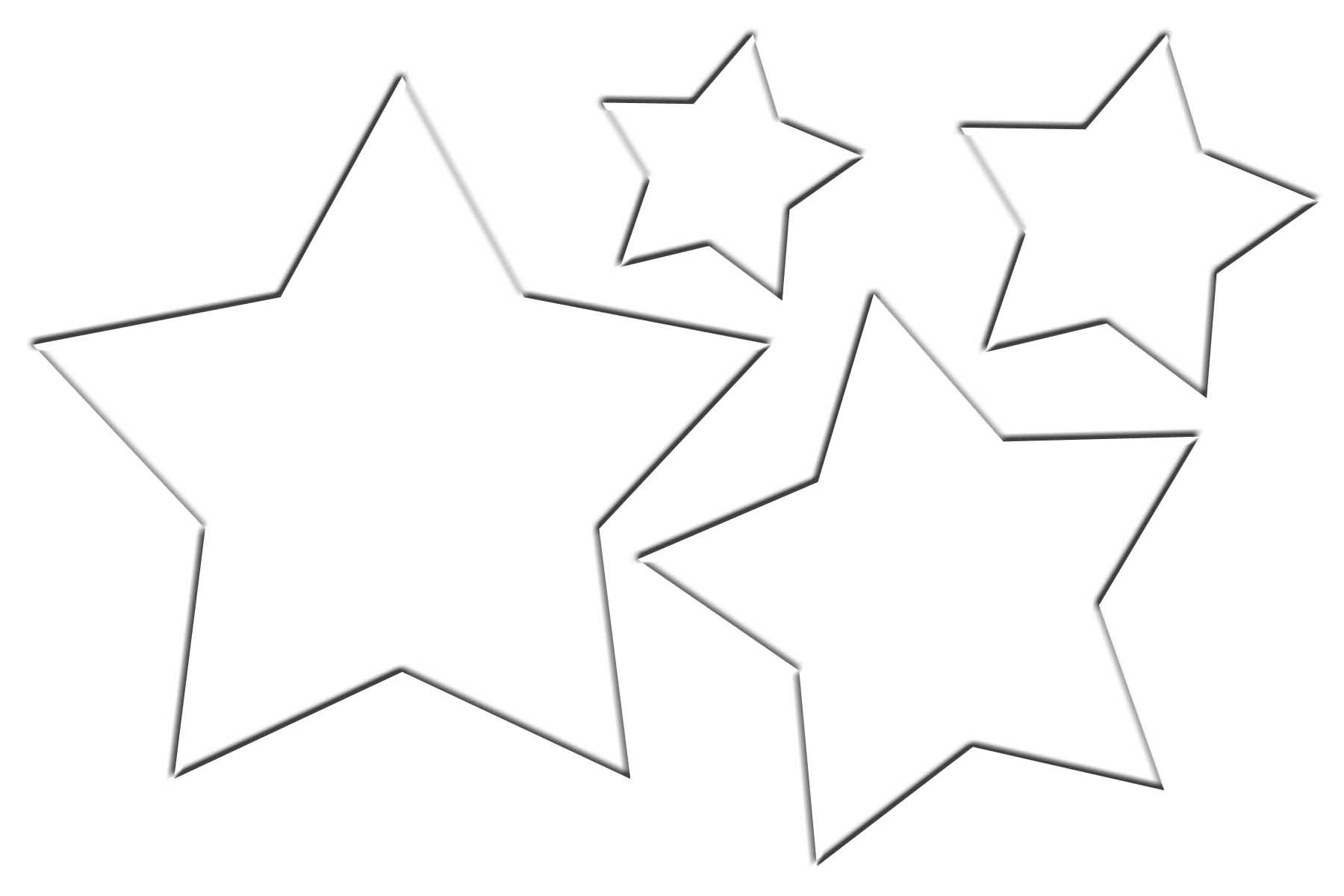 Christmas Star Template - ClipArt Best