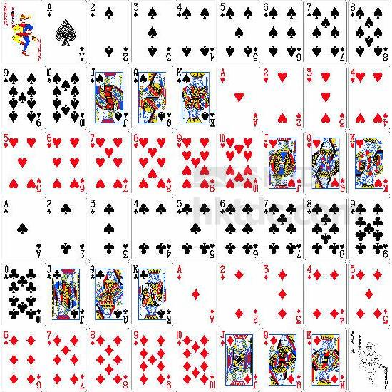 SMALL-ORDER ZONE: Paper Playing Card Poker - Premier Industries ...