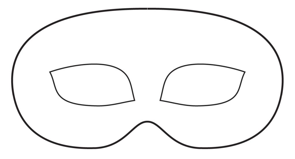 Masquerade Mask Stencil Cliparts Co