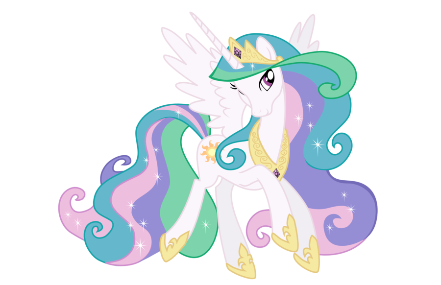 Celestia - From Coloring Book Cover by jimbox31 on deviantART