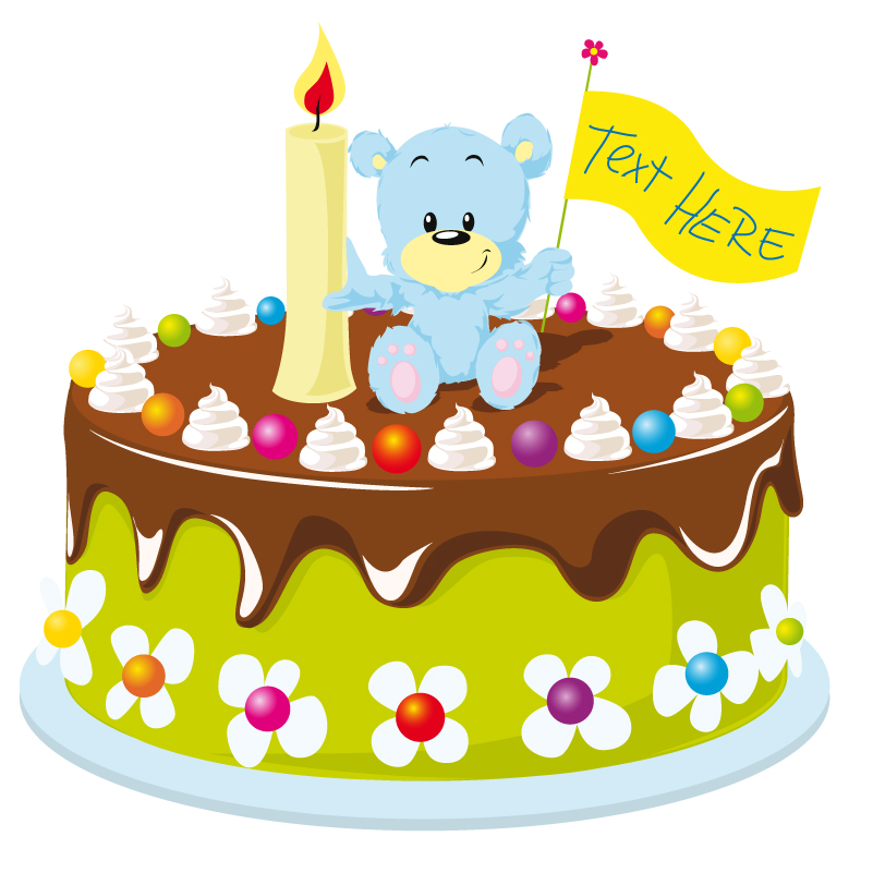 Pin Cartoon Birthday Cake Royalty Free Stock Photography Image ...