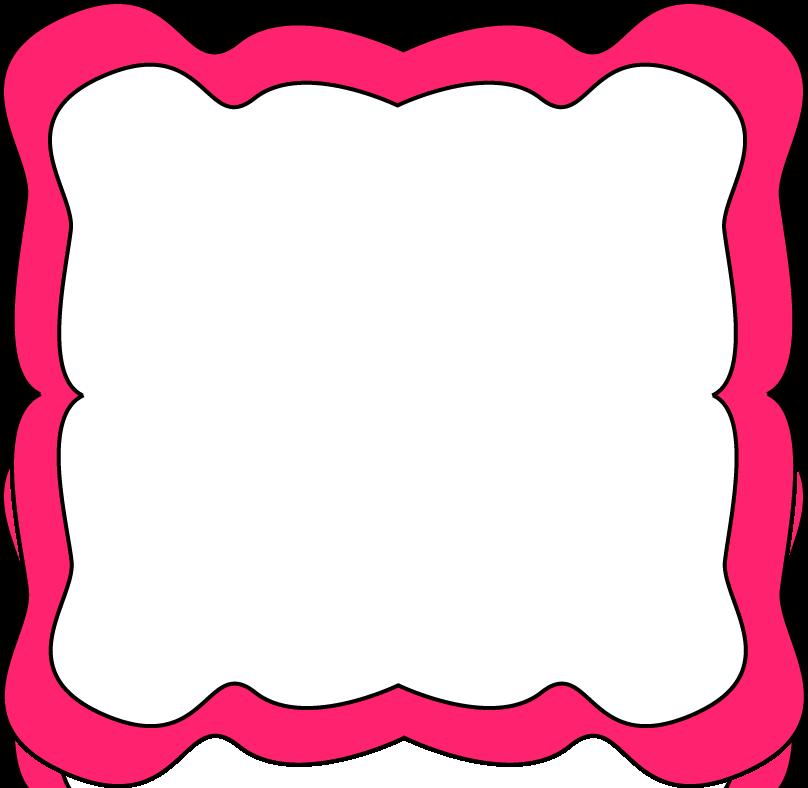 Pink Border Clip Art - Cliparts.co