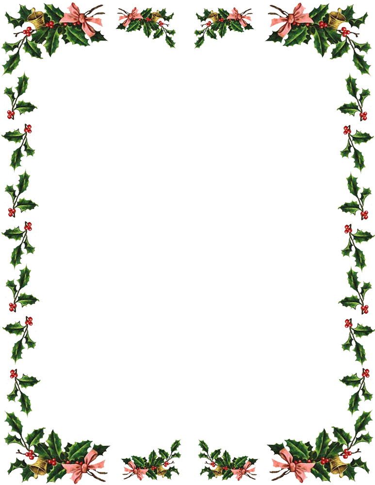 microsoft christmas borders clipart 1 - Christmas Borders Free