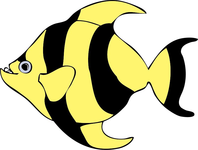 Funny Fish Clipart