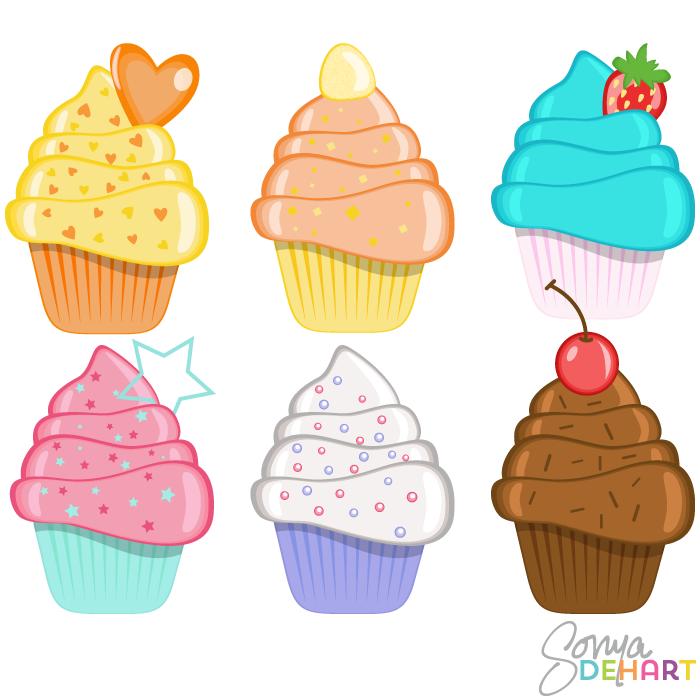 Kids Clip Art Birthday Cake