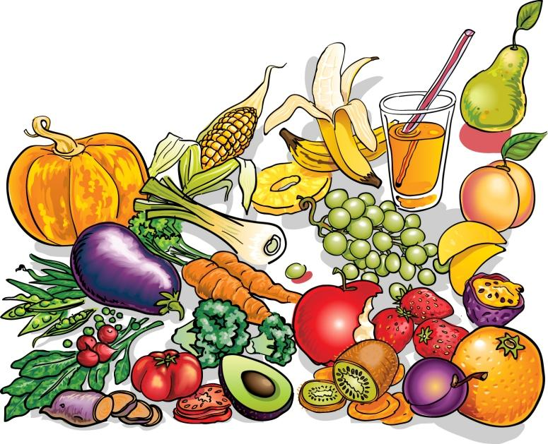 Fruit Plate Clipart