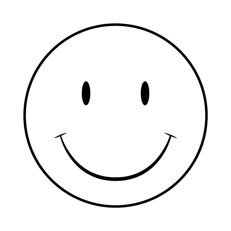 White Smiley Face Png