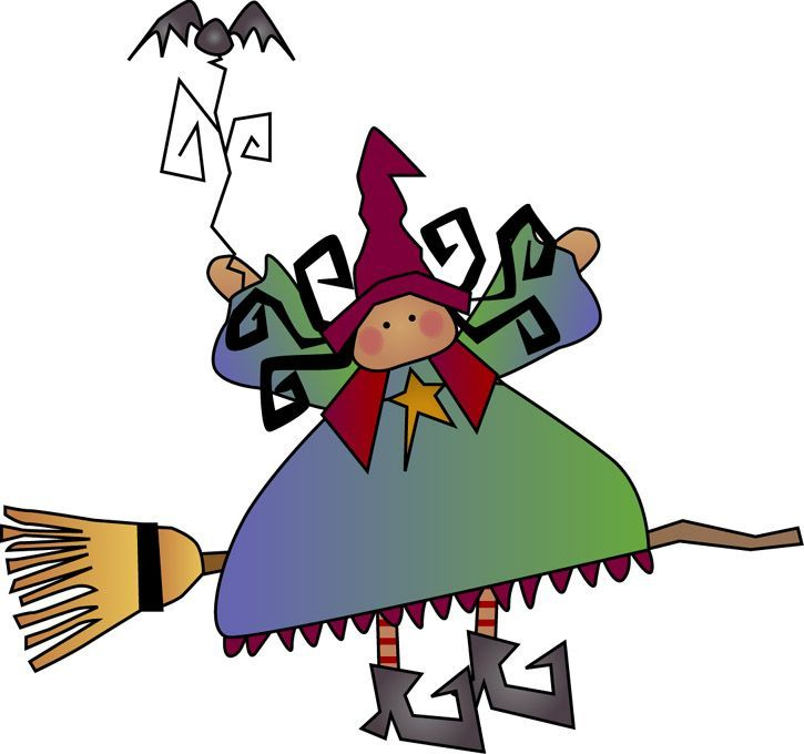 HALLOWEEN WITCH CLIP ART | HALLOWEEN CLIPART, CLIP ART | Pinterest