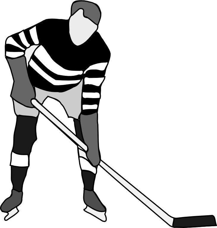 Hockey Stick Clipart Black And White | Clipart Panda - Free ...