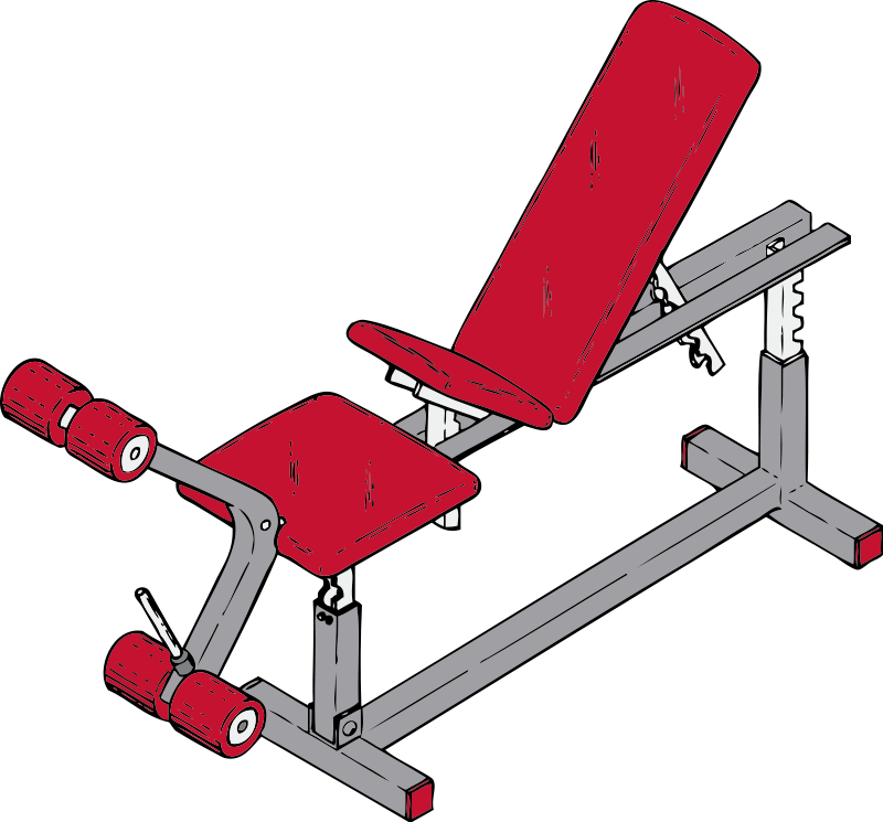 Exercise Bench Clip Art Download