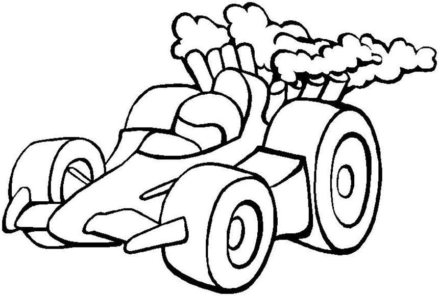 coloring pages : Race Car Coloring Pages Race Carver' Race Car ... | 581x860