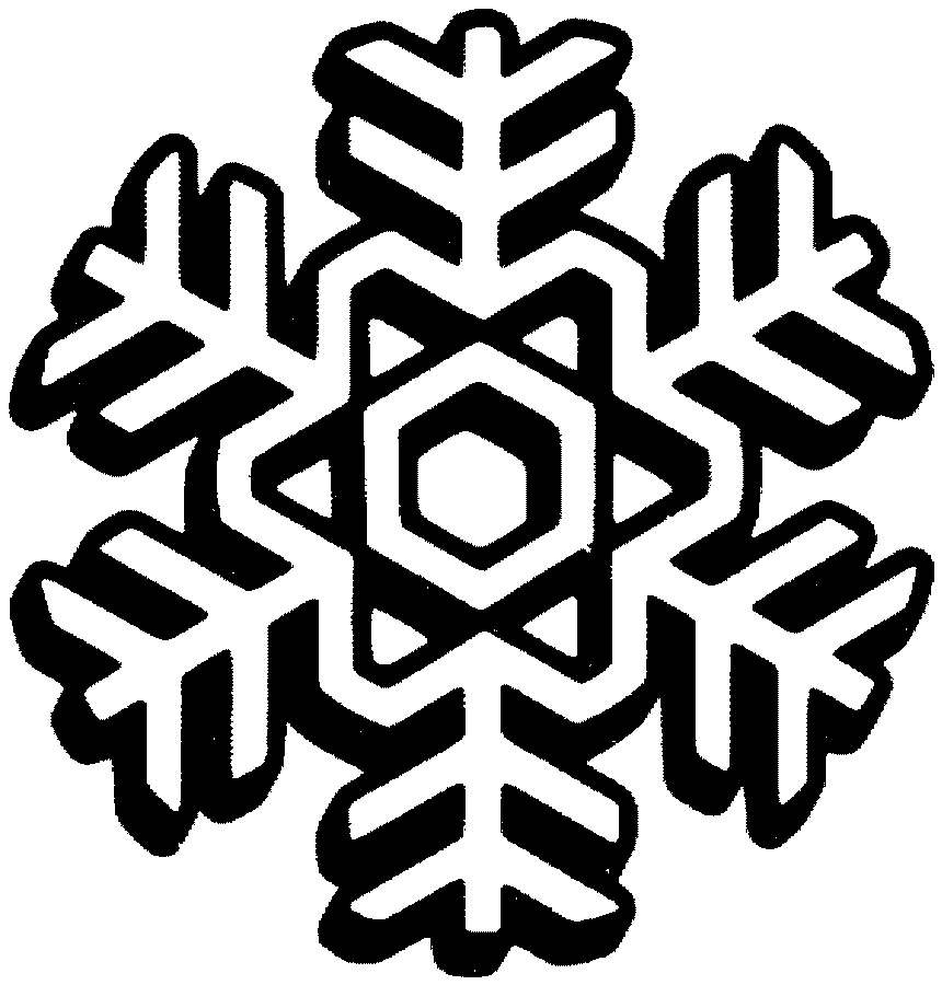 Snowflake Outline - Cliparts.co