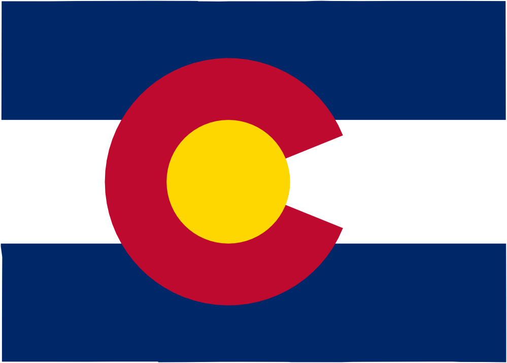 Flag Map of Colorado scallywag Flag SVG Flagartist.