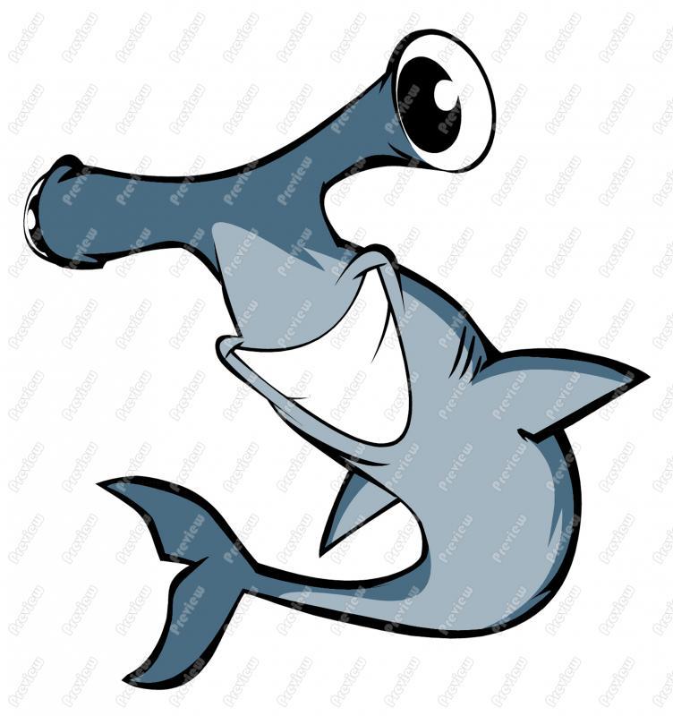 free animated shark clipart - photo #30