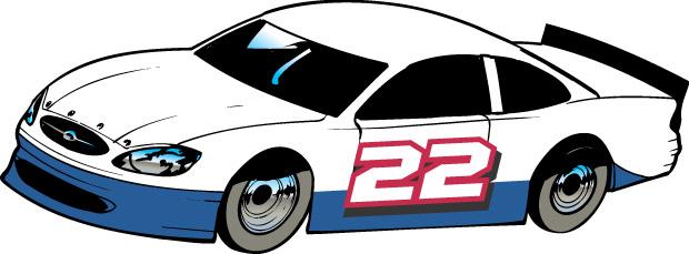 Stock Car Clip Art - C...
