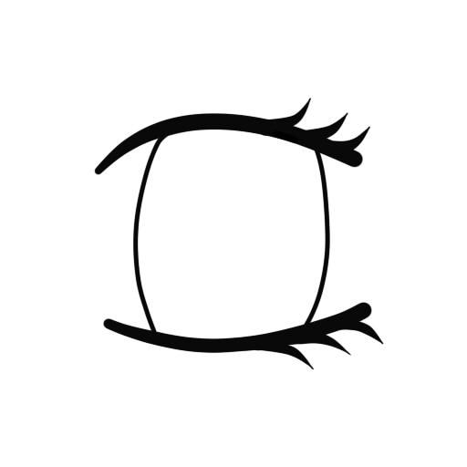 Line Art Eye : Eye line art cliparts