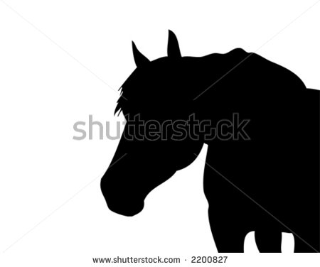 Horse Head Silhouette - Cliparts.co