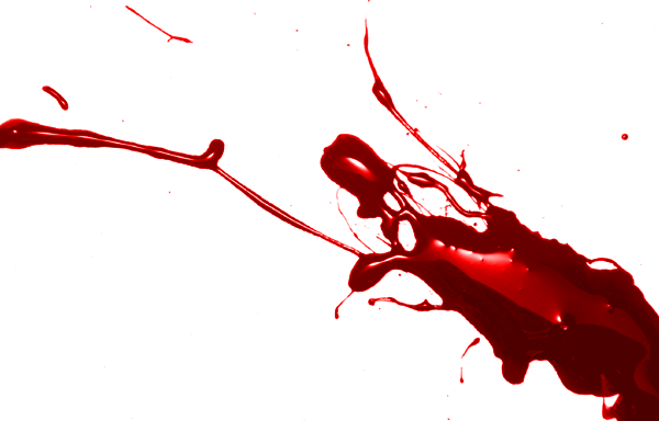 Glossy Blood Splatter Photoshop Brushes - Photoshop Tutorials
