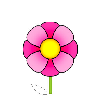Cartoon picture of a flower for Drawings of cartoon flowers
