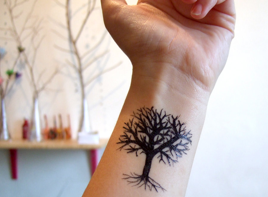 Dazzling Tree Tattoo Designs and Meanings | Best Tattoos 2016 ...