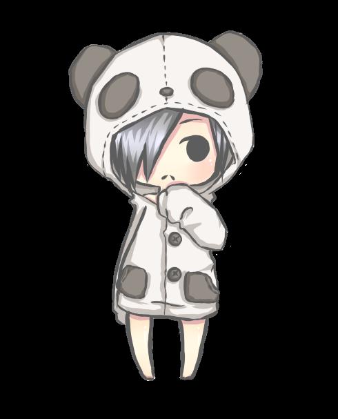 Resultado de imagen para pandas kawaii anime