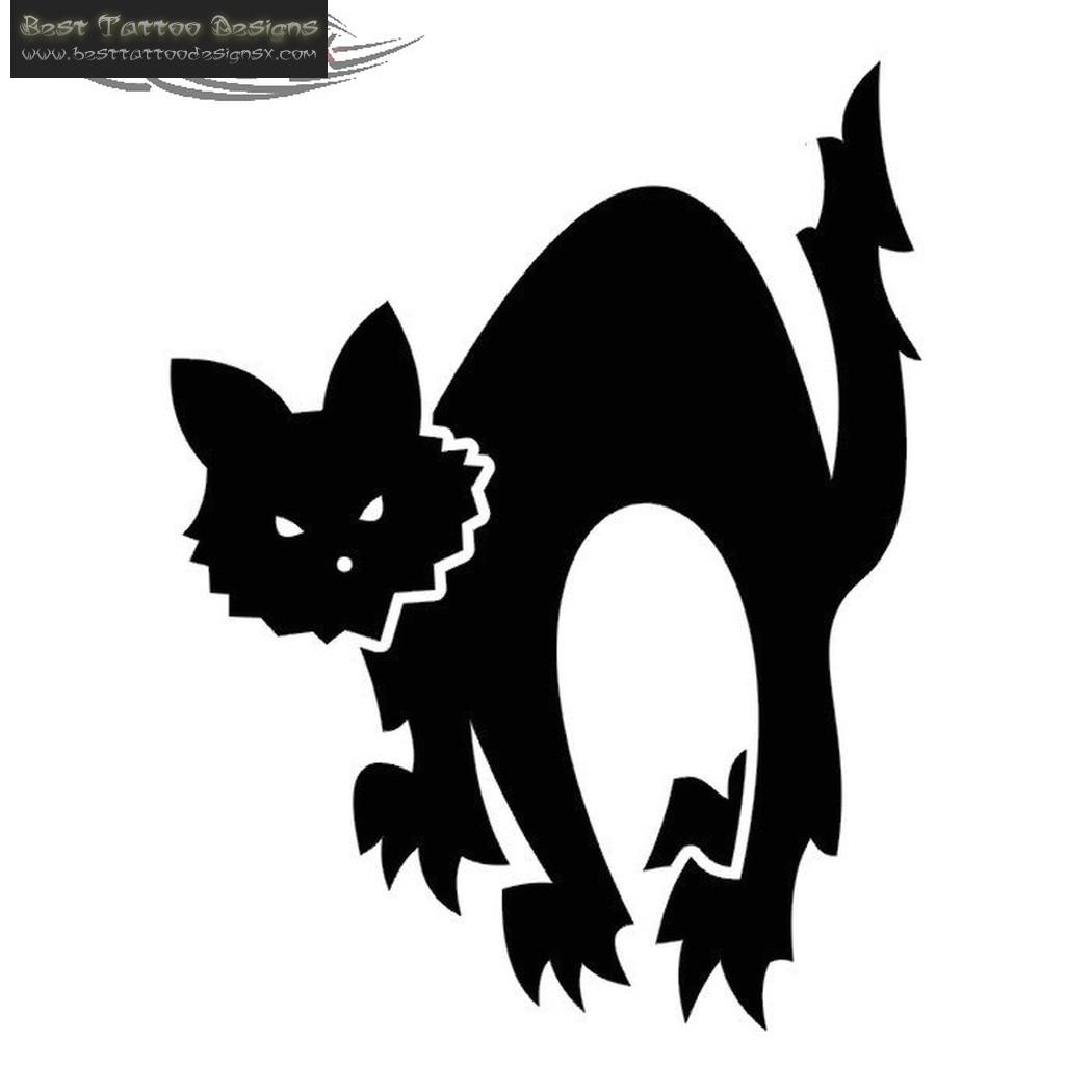 Brilliant Black Cat Tattoo Design Tattoobite Com Cliparts Co
