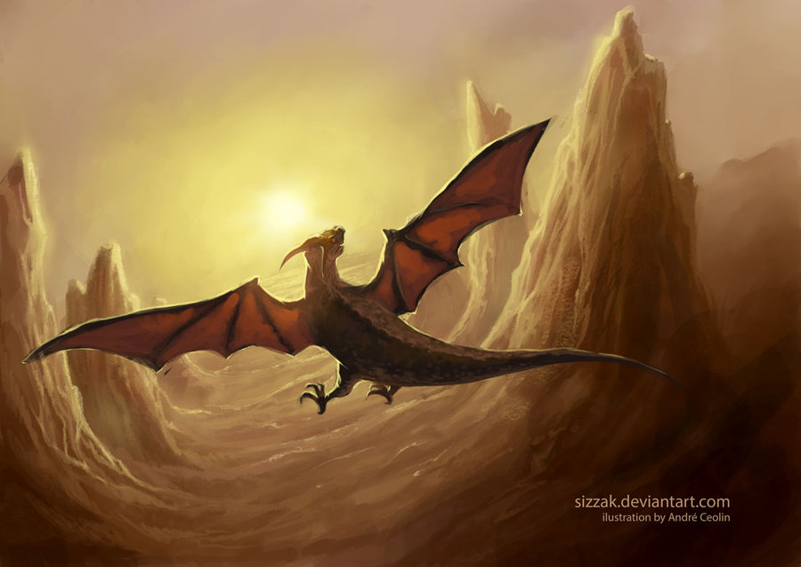 flying dragon clipartsco