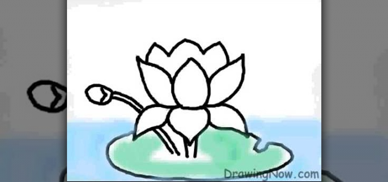 Easy Cartoon Drawing Images Of Lotus Cliparts Co