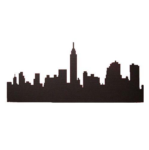 city skyline outline simple - photo #44
