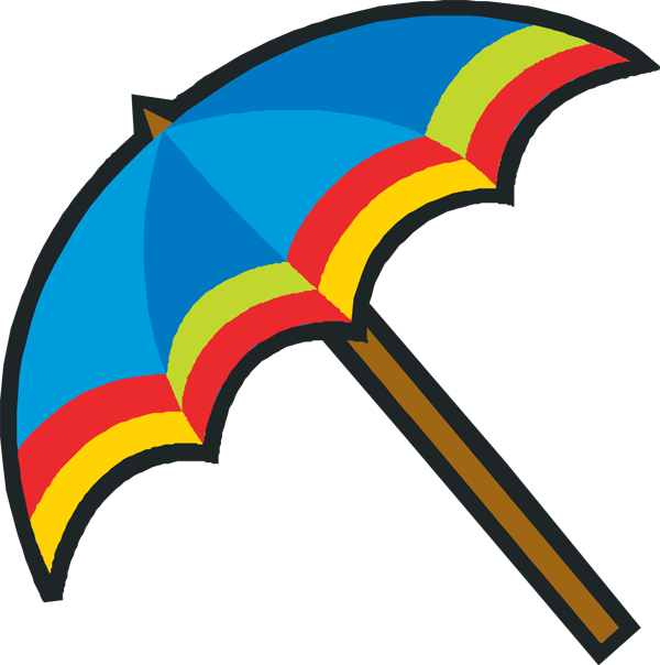 Beach Umbrella Clipart - Cliparts.co