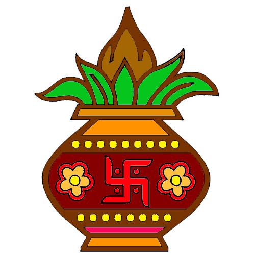 Annabella 67 Art Line Design : Kalash symbol clip art clipart best cliparts