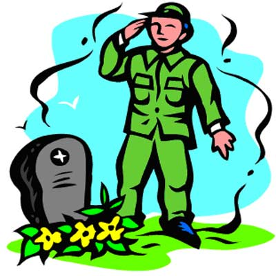 Memorial Day Soldiers Clipart