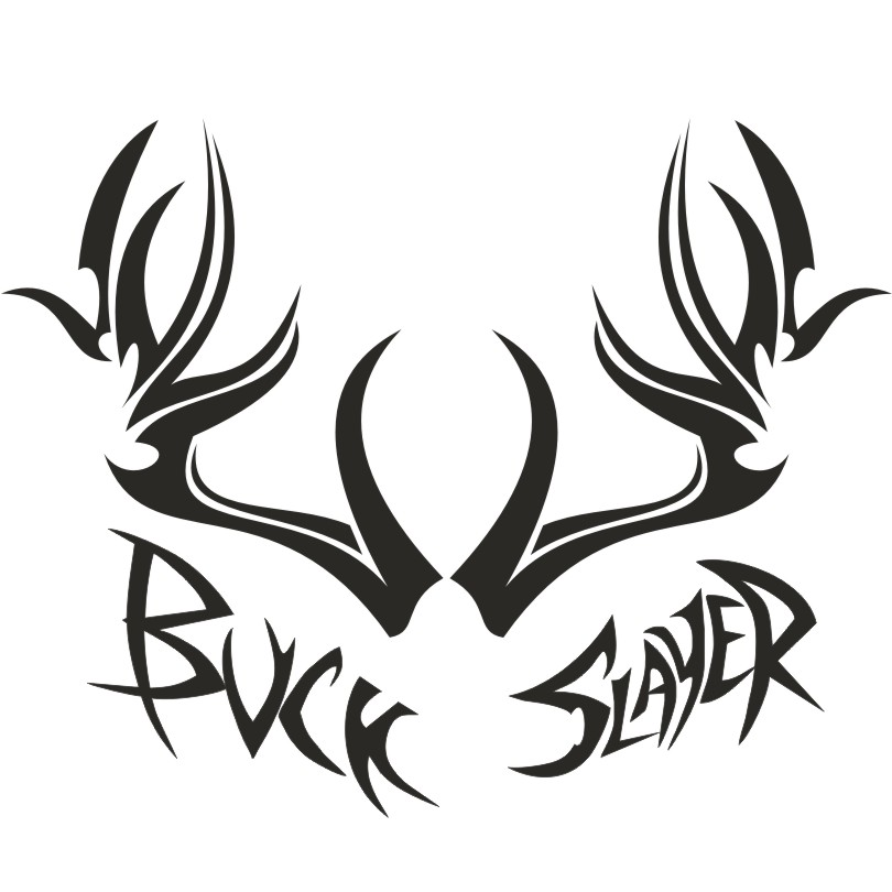 Buck Slayer Hunting Apparel Visors Hats Shirts Decals Camo