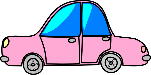 cartoon cars clipart - photo #50