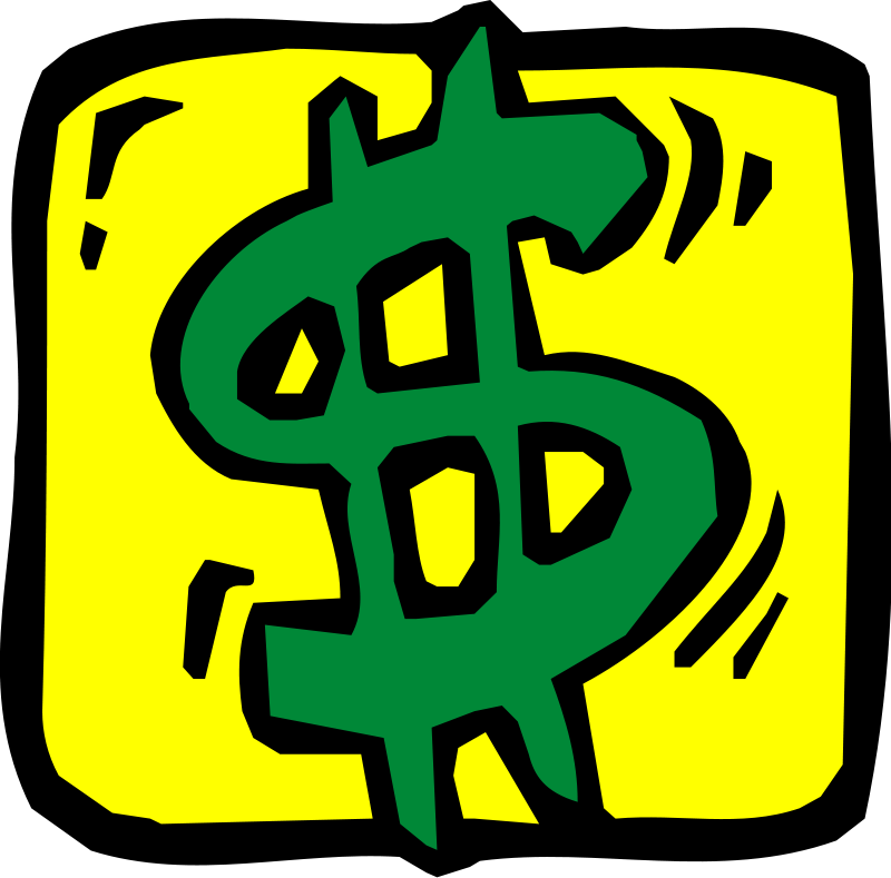 Clip art, Free Clipart Images Dollar Sign in the graphic arts ...
