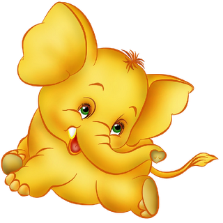 Pix For > Cute Baby Elephants Clipart