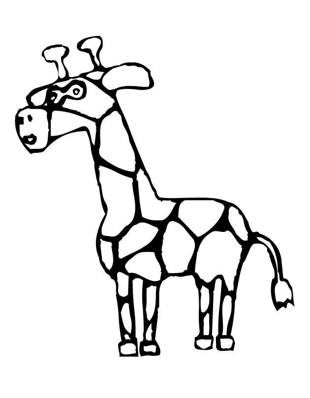 Giraffe Coloring Pages | ColoringMates.