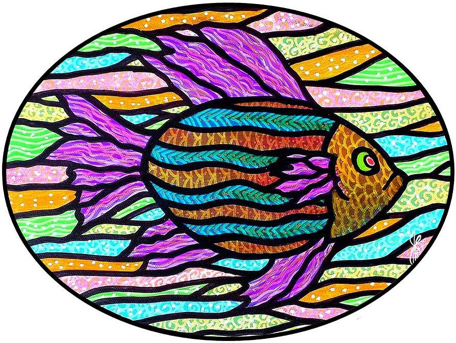 Striped tropical fish by jim harris striped tropical for Jims exotic fish
