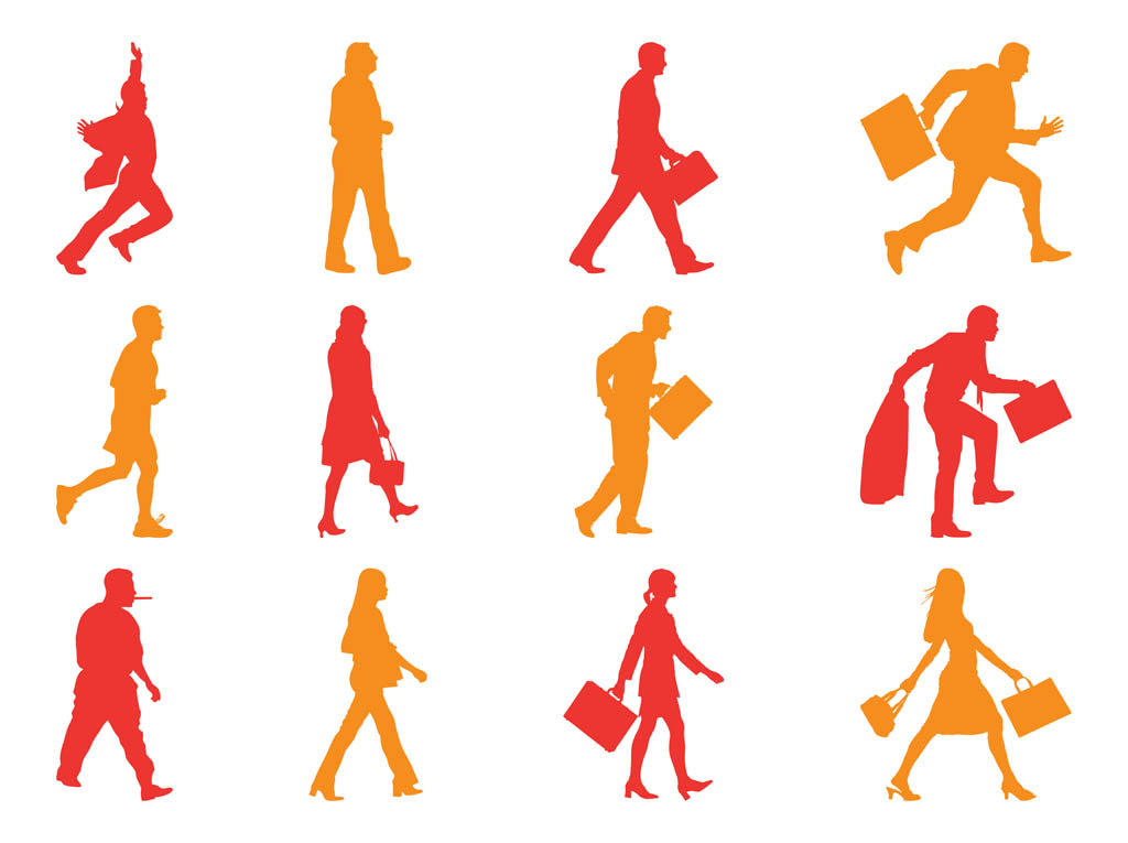 Free Walking Vectors