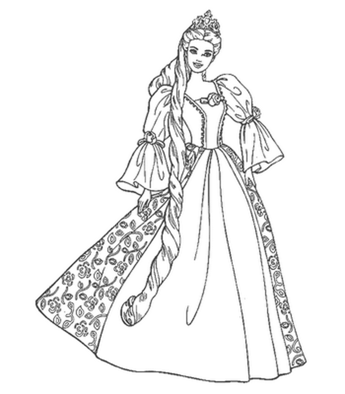 26 Best barbie colouring pages images   Barbie coloring pages ...   800x700