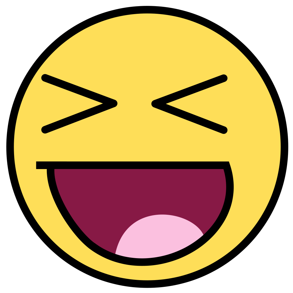 Emoticon Laughing Hysterically - Cliparts.co