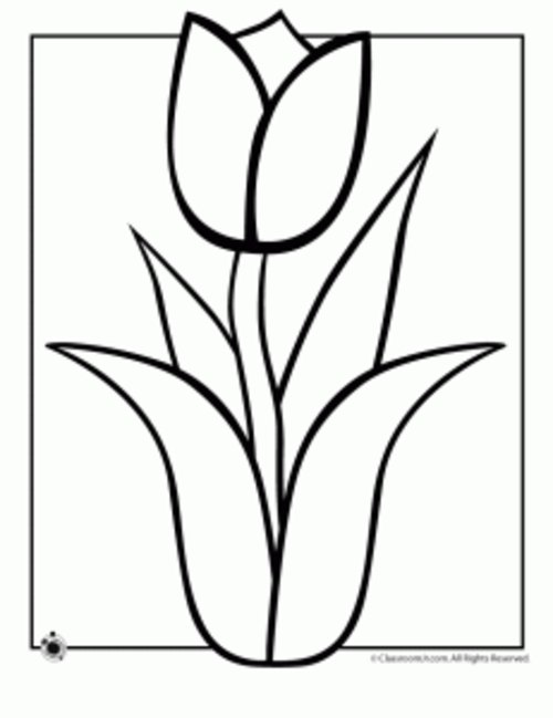 Spring Clip Art Black And White Cliparts Co