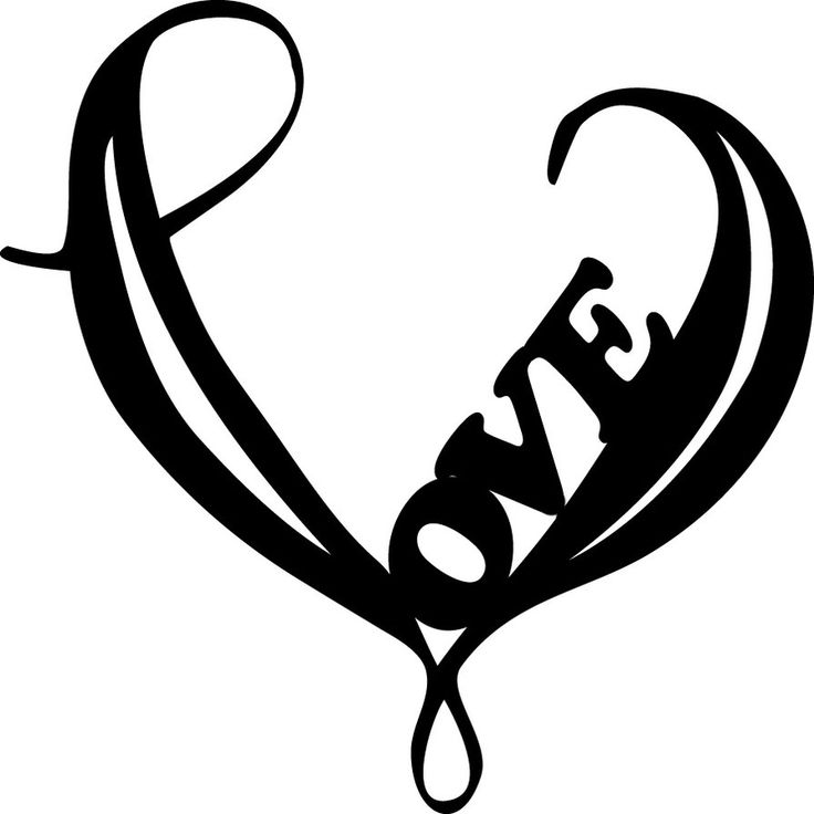 Simple Heart Drawing Clipartsco