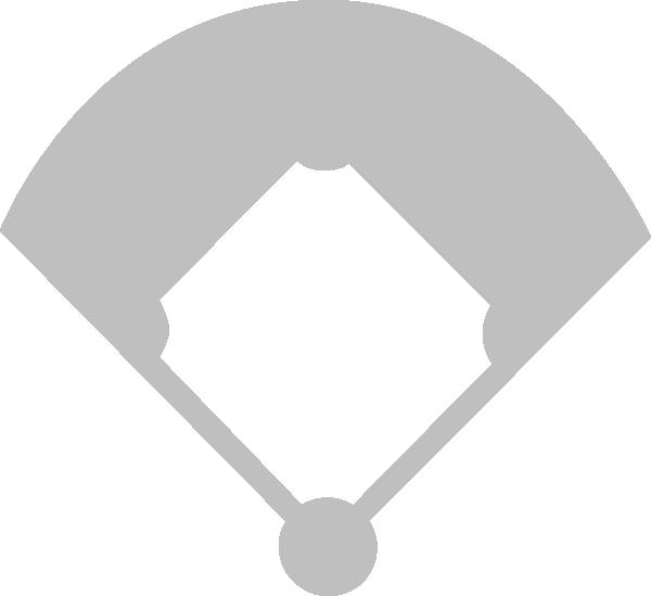 photo regarding Printable Baseball Field called Printable Baseball Diamond -