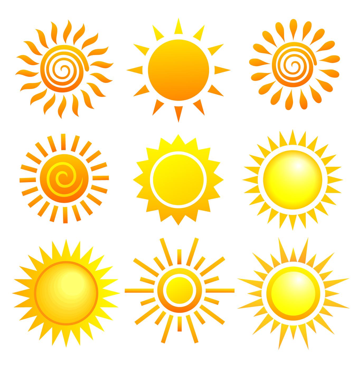 vector sun - photo #6