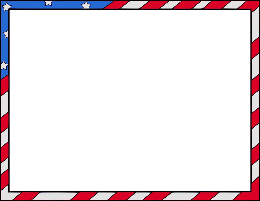 patriotic clip art borders