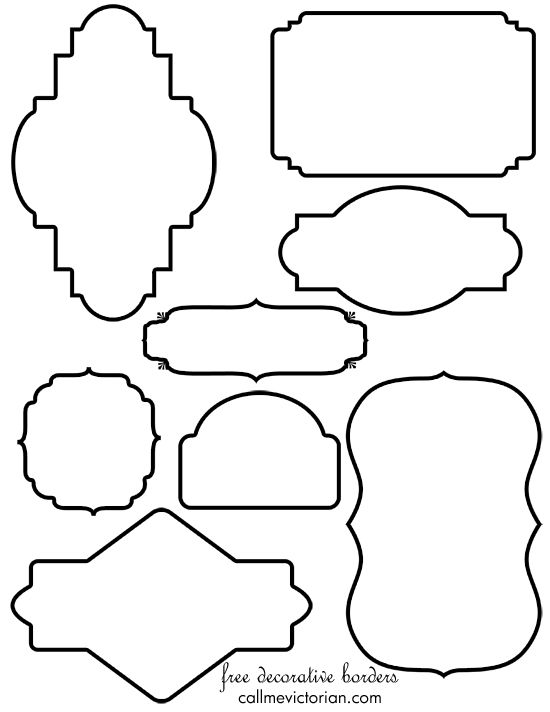 Free Baby Shower Border Templates - Cliparts.co