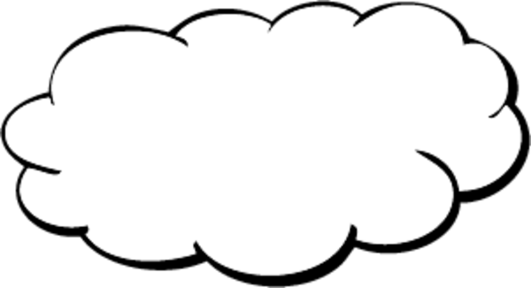 Cloud image - vector clip art online, royalty free & public domain