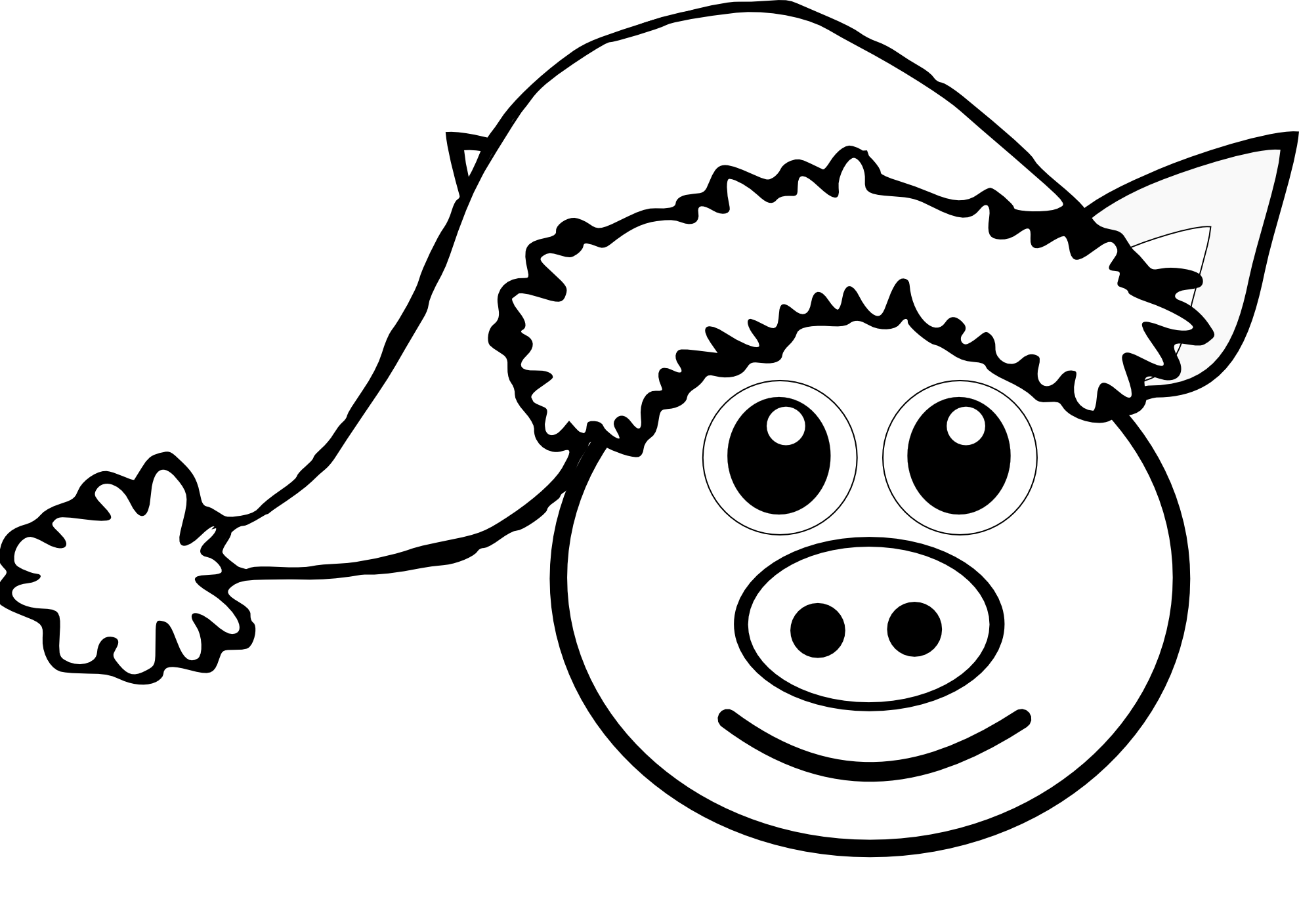 Pig Face Clip Art - Cliparts.co