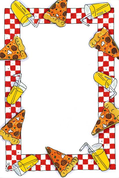 Pizza Party Border - ClipArt Best - ClipArt Best